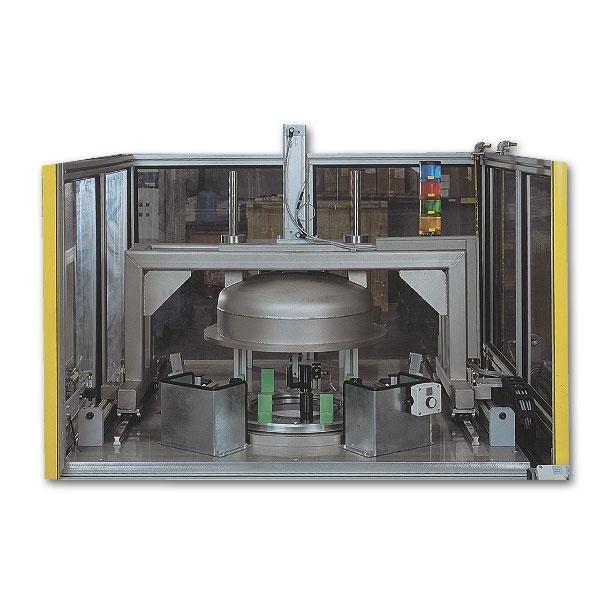 Sie sehen Bilder vom Artikel: Helium-Dichtheitsprüfanlage zur Prüfung von Gießharzbauteilen