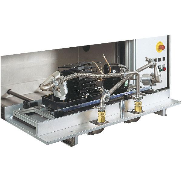 Sie sehen Bilder vom Artikel: Integral helium portal leak testing equipment for Compressor